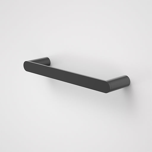 Caroma Urbane II Hand Towel Rail Matte Black - The Blue Space