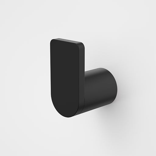 Caroma Urbane II Robe Hook Matte Black - The Blue Space