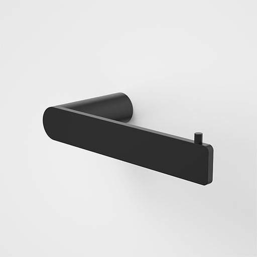 Caroma Urbane II Toilet Roll Holder Matte Black - The Blue Space