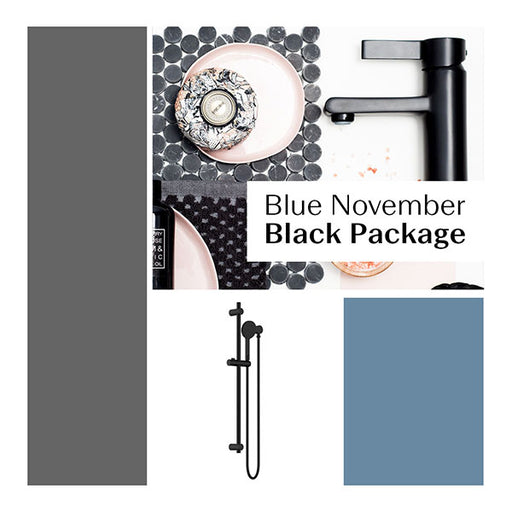 Blue November Black Bathroom Package - The Blue Space