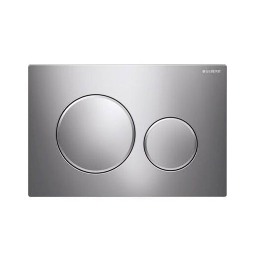 Geberit Sigma 20 Dual Flush Plate Chrome - The Blue Space