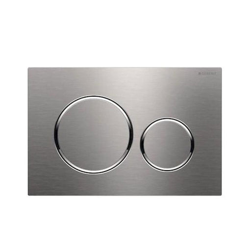 Geberit Sigma 20 Dual Flush Plate Stainless Steel/Chrome - The Blue Space