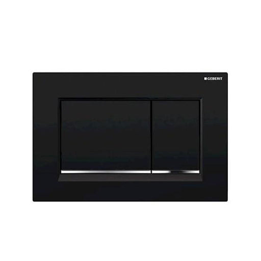 Geberit Sigma 30 Dual Flush Plate Matte Black - The Blue Space