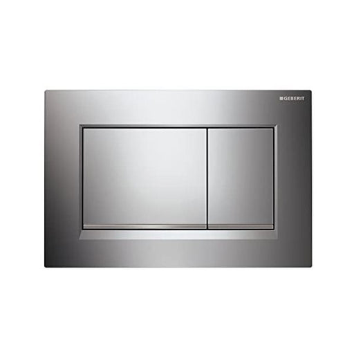 Geberit Sigma 30 Dual Flush Plate Matte Chrome - The Blue Space