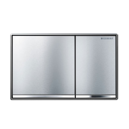 Geberit Sigma 60 Dual Flush Plate Brushed Chrome - The Blue Space