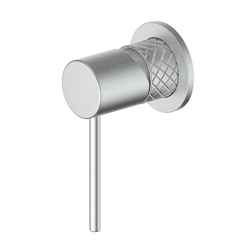Greens Textura Shower/Wall Mixer Brushed Stainless - The Blue Space