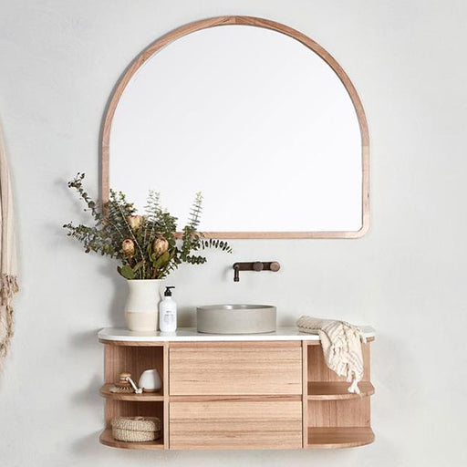 Loughlin Furniture Marley Curved Vanity - The Blue Space