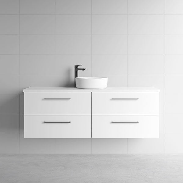 Marquis Marq Wall Hung All-Drawer Vanity 1500mm - The Blue Space