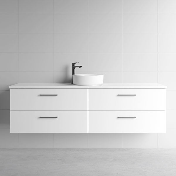 Marquis Marq Wall Hung All-Drawer Vanity 1800mm Single Bowl - The Blue Space