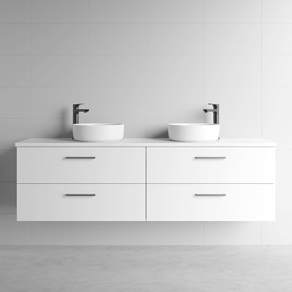 Marquis Marq Wall Hung All-Drawer Vanity 1800mm Double Bowl - The Blue Space