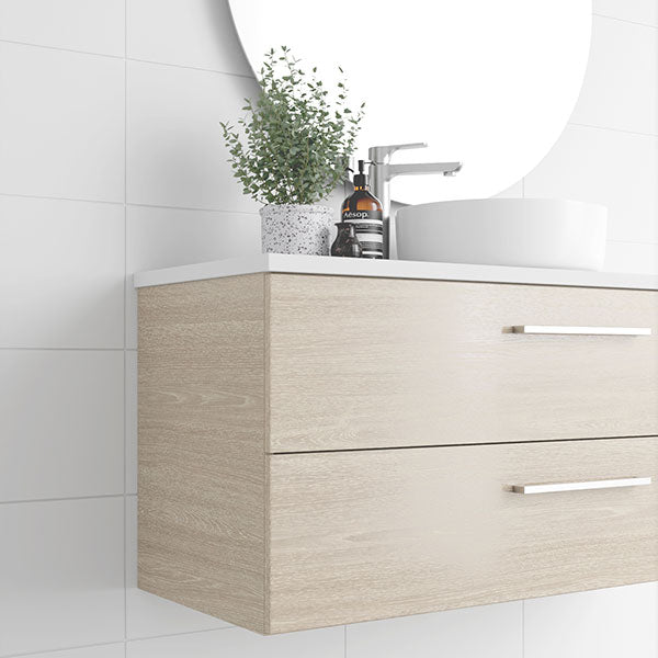 Marquis Marq Wall Hung All-Drawer Vanity - The Blue Space
