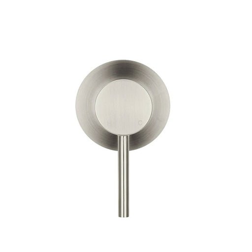 Meir Round Wall Mixer Brushed Nickel - The Blue Space