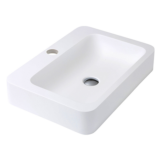 Fienza Rondo 600 Solid Surface Basin - The Blue Space