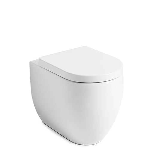 TECE Kerasan Flo Wall Faced Rimless In-Wall Toilet Suite