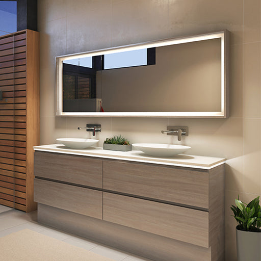 Timberline Halifax 600mm - 1500mm Mirror with Timberline Vanity - The Blue Space