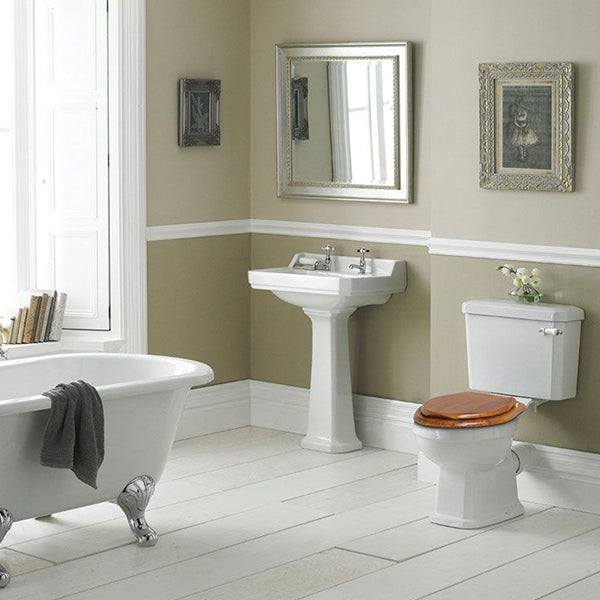 Turner Hastings Arlington 60 x 47 Ceramic Wash Basin Lifestyle Image at The Blue Space