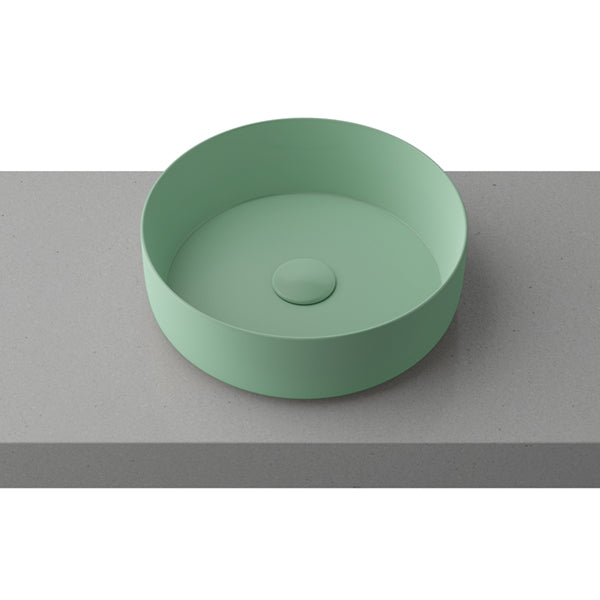Timberline Allure Mint Green Above Counter Basin online at The Blue Space