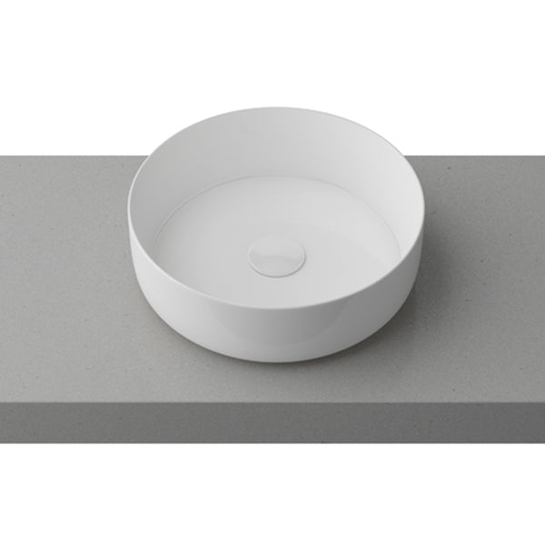 Timberline Allure White Above Counter Basin online at The Blue Space