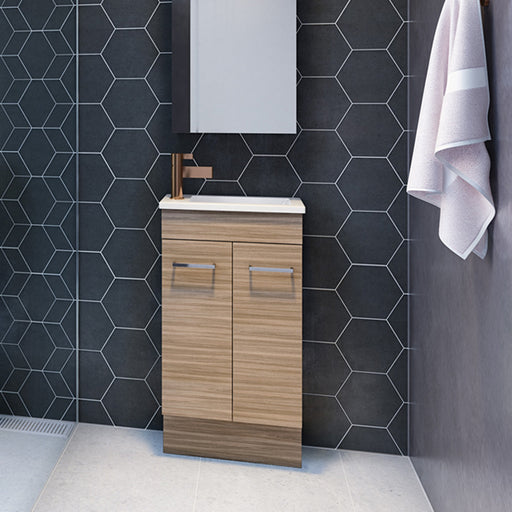 Timberline Ensuite Floor Standing Vanity 460mm with Acrylic Top online at the Blue Space
