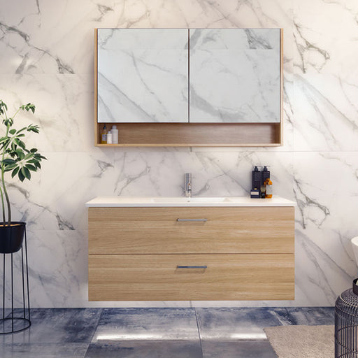 Timberline Nevada Plus Wall Hung Vanity 750mm - 1200mm with Alpha Ceramic Top online at the Blue Space
