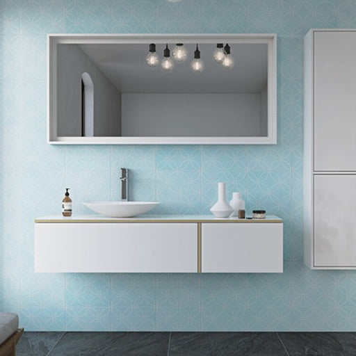 Timberline Nordic Wall Hung Vanity 900mm - 1800mm with Above Counter Basin