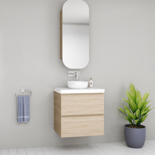 Timberline Oxbow Vanity 600mm - 1800mm with Above Counter Basin