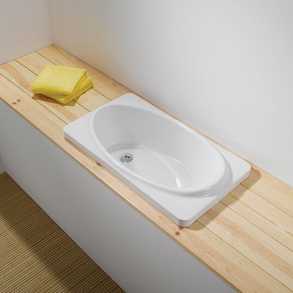 Turner Hastings Baby Bath Installed - The Blue Space