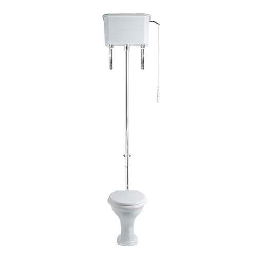 Turner Hastings Birmingham Toilet with High Level Cistern and chain flush - online at The Blue Space