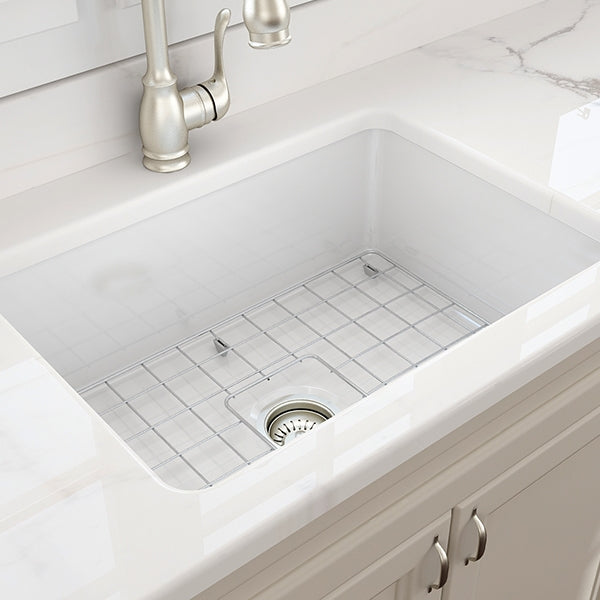 Turner Hastings Cuisine 48 x 68 Undermount Fine Fireclay Sink - The Blue Space