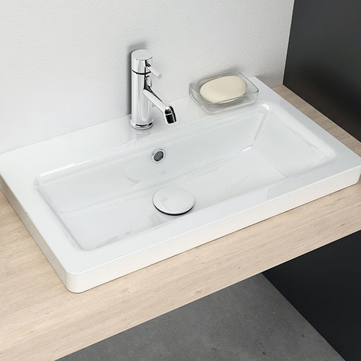 Turner Hastings Iris 60 x 35 Fine Fireclay Wash Basin online at the Blue Space