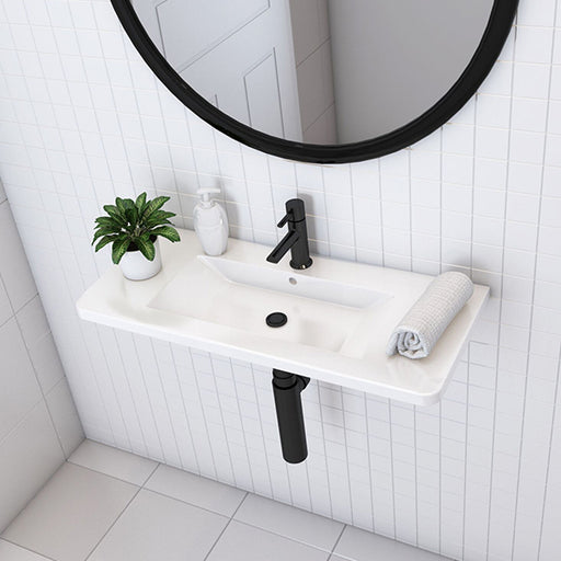 Turner Hastings Iris 80 x 35 Fine Fireclay Wash Basin online at The Blue Space