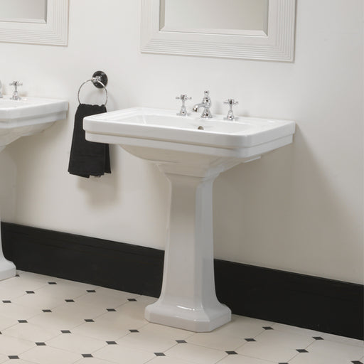 Turner Hastings Stafford 62 x 50 Basin + Pedestal online at The Blue Space