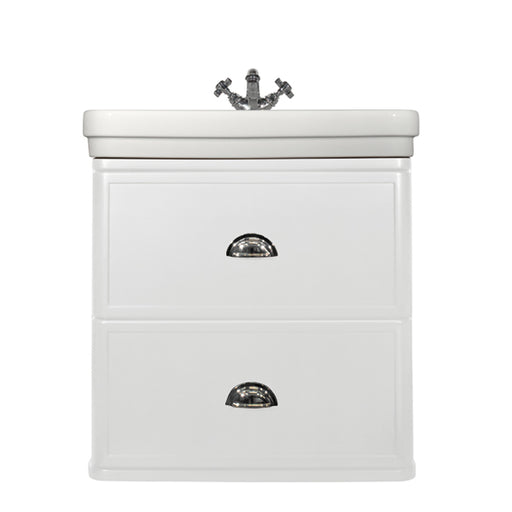 Turner Hastings Stafford 62 x 50 Wall Mounted Basin + Vanity white