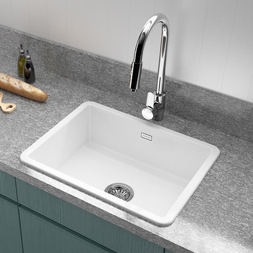 Turner Hastings Valet 600mm Inset/Undermount Fine Fireclay Sink