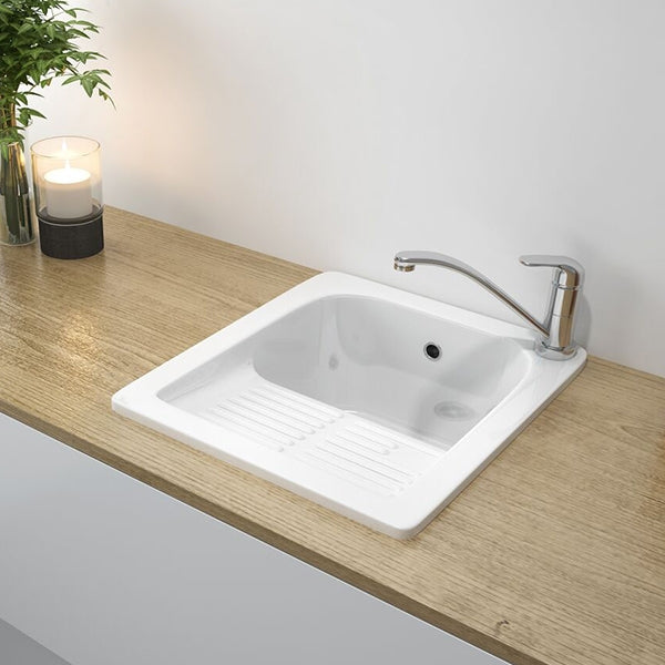 Turner Hastings Barlow Fine Fireclay Ceramic Laundry Sink - The Blue Space