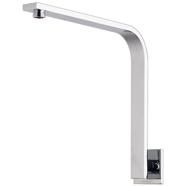 Phoenix Vivid Slimline Shower Arm 30 X 10 mm Square Plate - the blue space