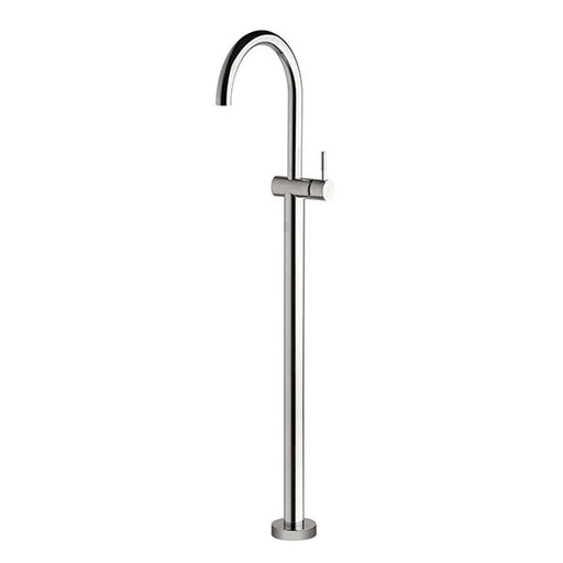 Sussex Voda Floormount Bath Mixer Curved Outlet Online at The Blue Space
