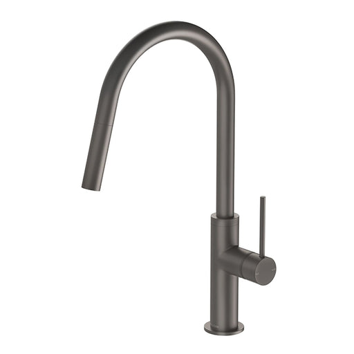 Phoenix Vivid Slimline Pull Out Sink Mixer - Gun Metal - the blue space