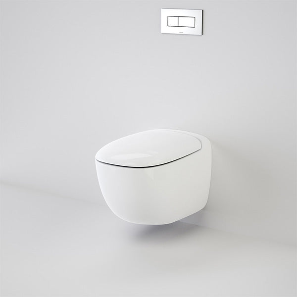 Caroma Contura Wall Hung Invisi II Toilet Suite by Caroma - The Blue Space