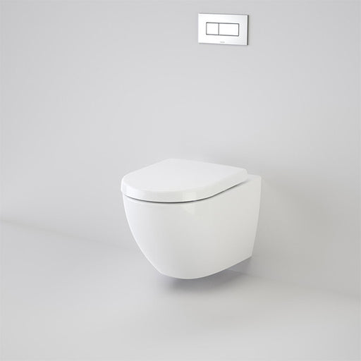 Caroma Urbane Wall Hung Invisi Series II Toilet Suite - The Blue Space