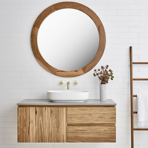 Loughlin Furniture Yamba Timber Bathroom Vanity 900mm to 1800mm - The Blue Space