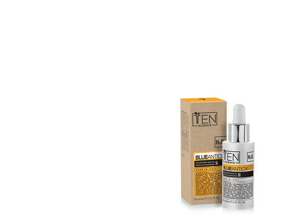 Ten Science CREMA VISO TEN SCIENCE BLUEANTIOX CONCENTRATO ANTI-OX SPF30