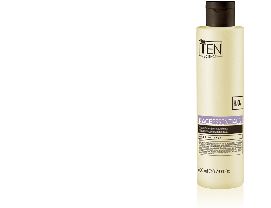 Ten Science Detersione TEN SCIENCE FACE ESSENTIALS LATTE DETERGENTE NUTRIENTE