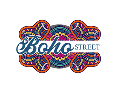 Boho Colorful Logo Design, Premade Logo - Webvizion Digital - No.1 Web Services Store