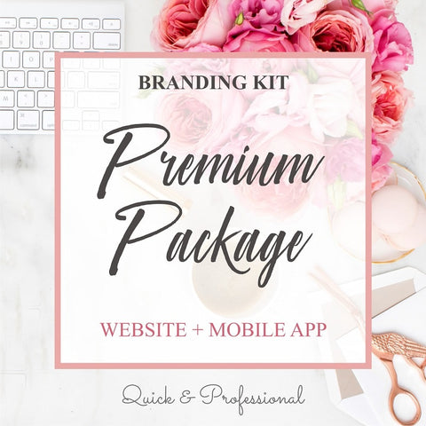 Branding Premium Package - Webvizion Digital - No.1 Web Services Store