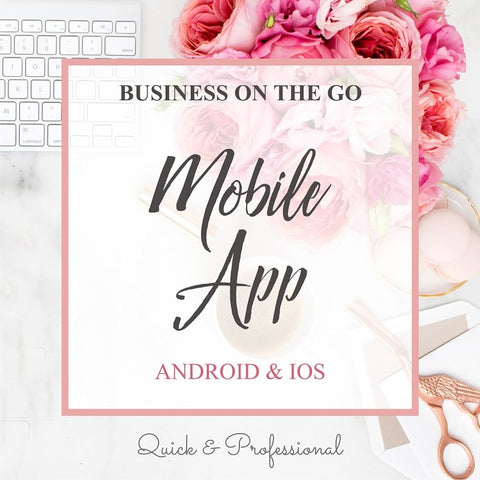 Business On The Go Mobile App - Webvizion Digital - No.1 Web Services Store