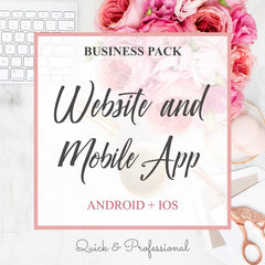 Business Pack Website & Mobile App - Webvizion Digital - No.1 Web Services Store