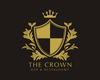 Crown Bar & Restaurant Logo Design, Premade Logo - Webvizion Digital - No.1 Web Services Store