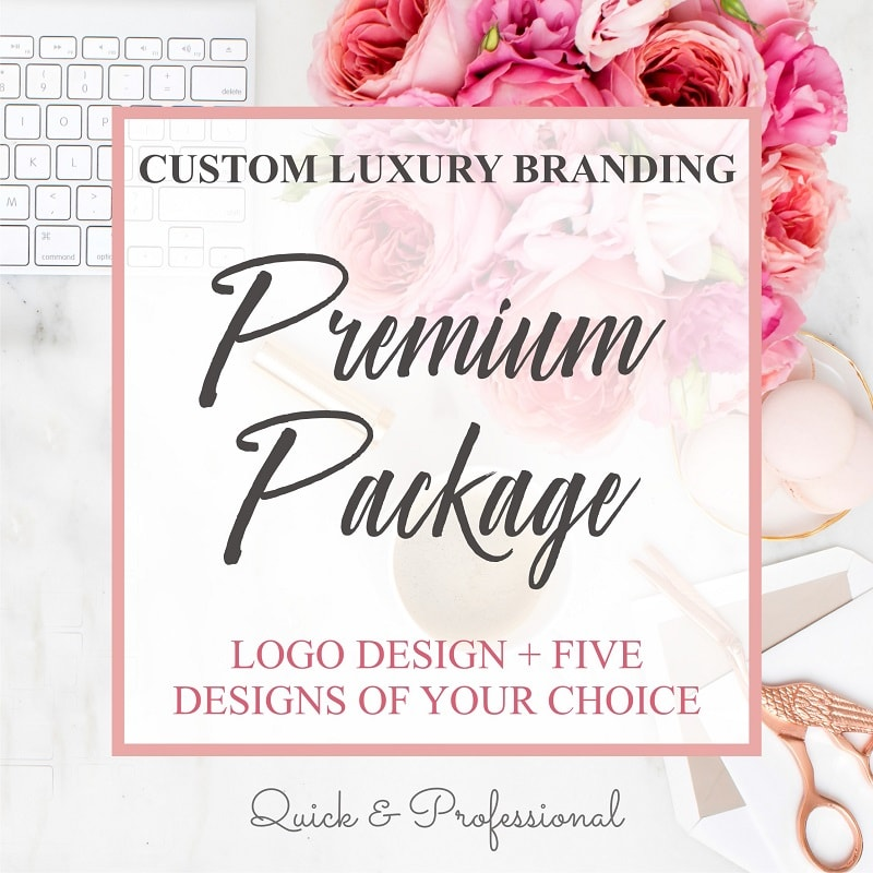 Custom Luxury Branding Premium Package - Webvizion Digital - No.1 Web Services Store