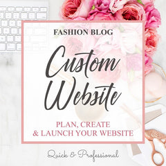 Fashion Blog Website Design - Webvizion Digital - No.1 Web Services Store